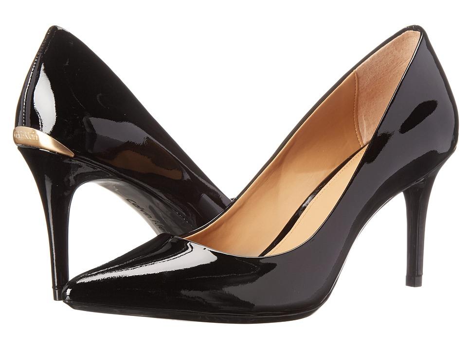 Calvin Klein - Gayle Pump (Black Patent) High Heels