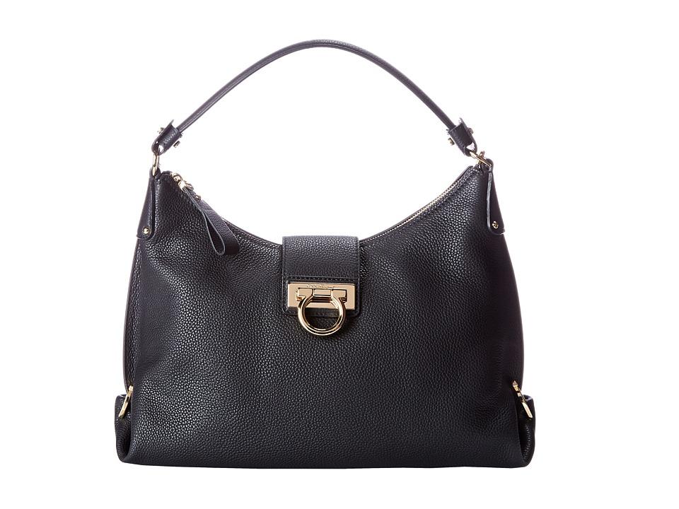 Salvatore Ferragamo - 21E654 Fanisa (Nero) Handbags