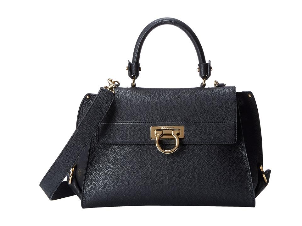 Salvatore Ferragamo - 21E530 Sofia (Nero) Handbags