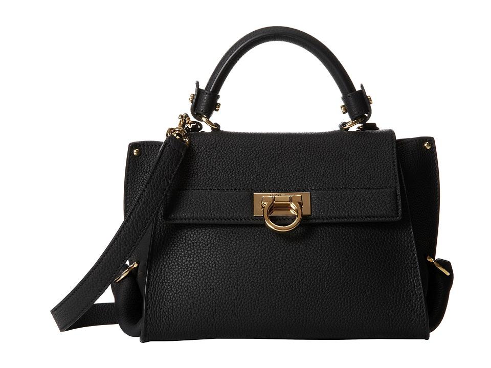 Salvatore Ferragamo - 21D570 Sofia (Nero) Handbags