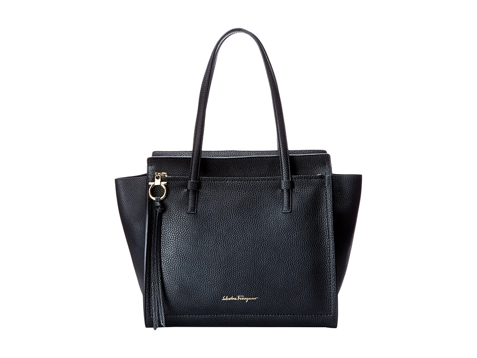 Salvatore Ferragamo - 21F215 Amy (Nero) Handbags