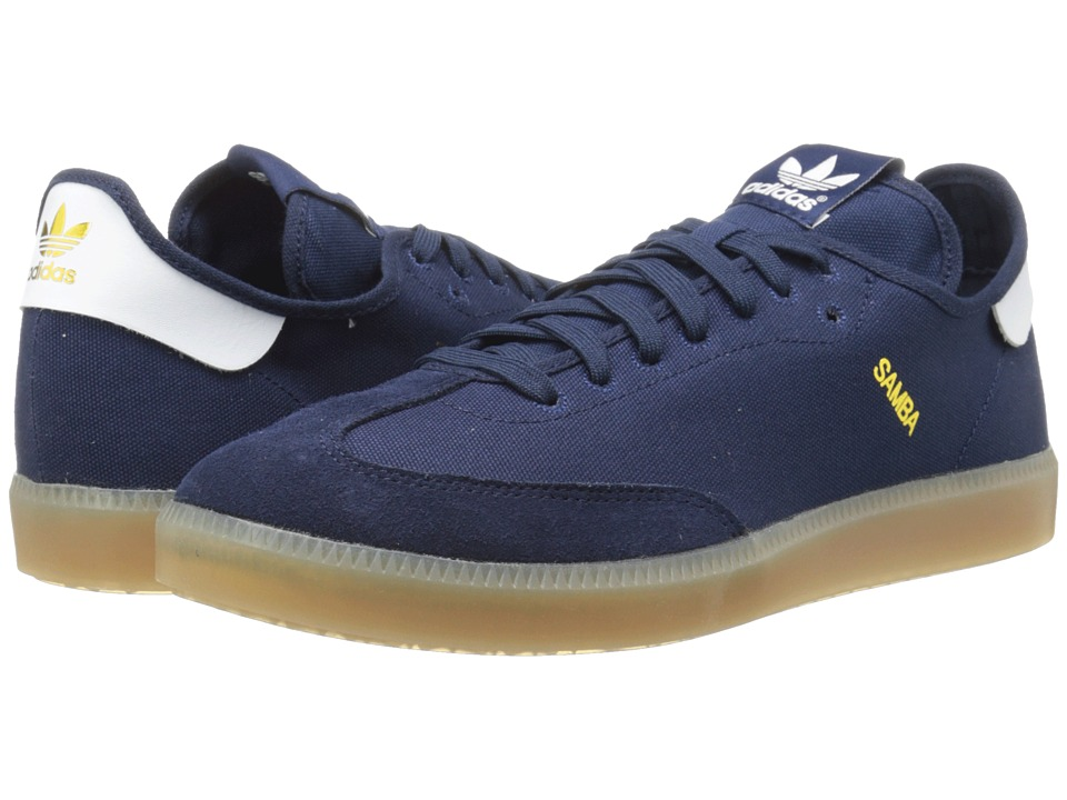 adidas Originals - Samba MC (Collegiate Navy/White/Gold Metallic) Men