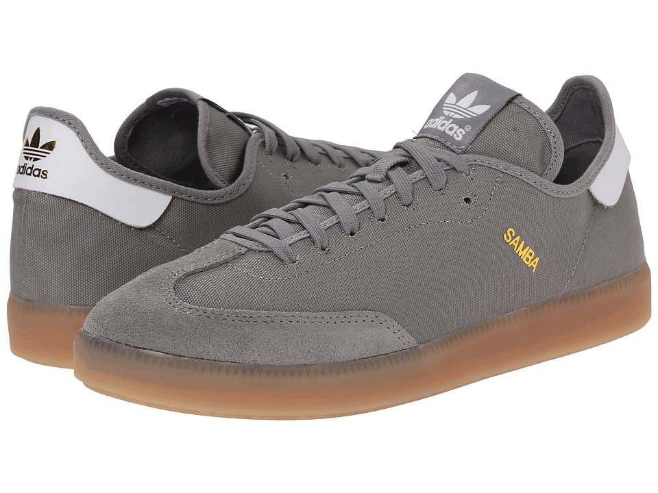adidas Originals - Samba MC (Solid Grey/White/Gold Metallic) Men