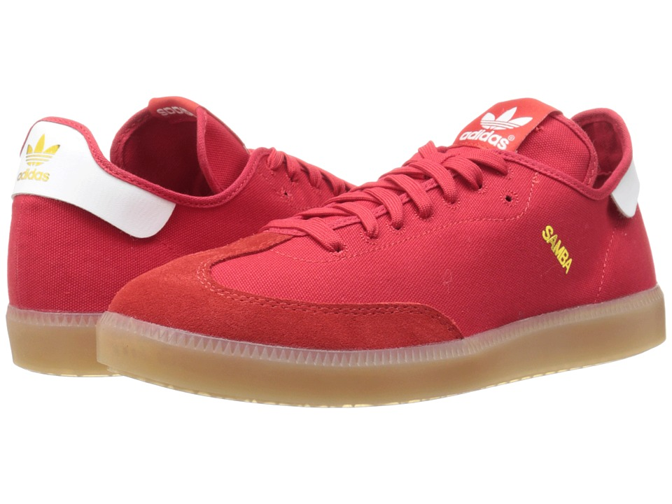 adidas Originals - Samba MC (Scarlet/White/Gold Metallic) Men