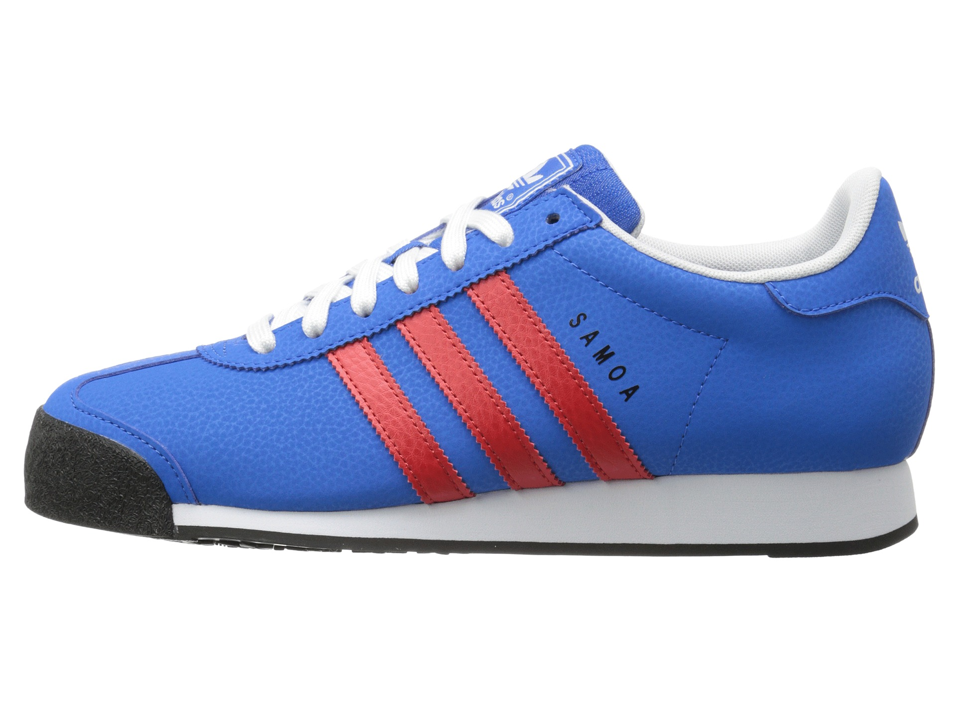 baby blue and red samoa adidas