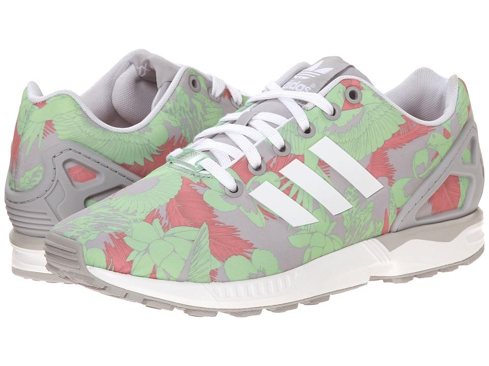 adidas Originals ZX Flux W Light Onix/White/Vista Pink Womens Running Shoes