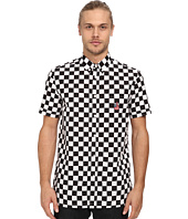 LOVE Moschino - Short Sleeve Check Button Up