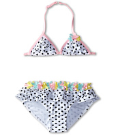 Kate Mack - Poolside Posies Swim Bikini Dots Skirted (Little Kids)
