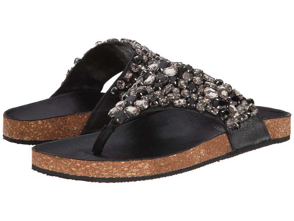 Steven Jordin (Black Multi) Women's Sandals