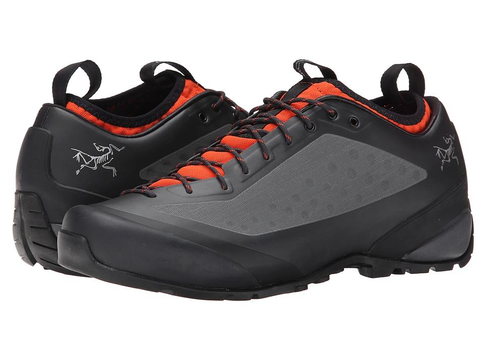 Arcteryx Acrux FL Graphite/Bright Flame Mens Shoes