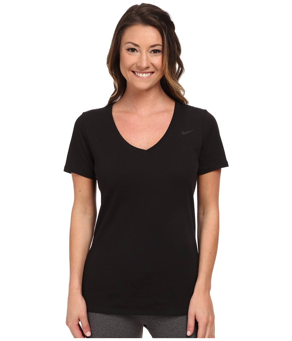 Women's V-Neck T-Shirts Soft to the touch and oh so feminine, our women's v-neck t-shirts take the ordinary tee up a notch. Available in a variety of styles, colors and soft fabrics, our long and short sleeve v-necks look great dressed up, down or layered under your favorite sweater.