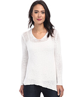 DKNY Jeans - Textured Tape V-Neck Pullover