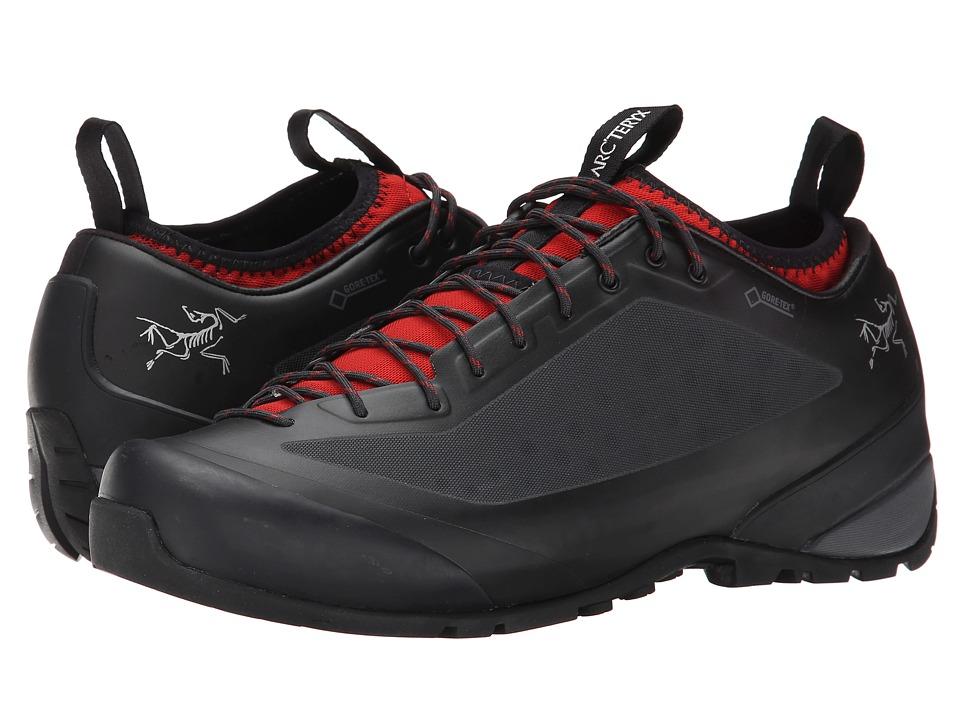 Arcteryx Acrux FL GTX Black/Cajun Mens Shoes