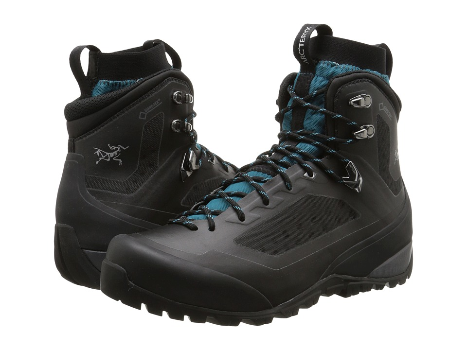 Arc'Teryx Bora Mid GTX (Black/Mid Seaspray) Women's Shoes