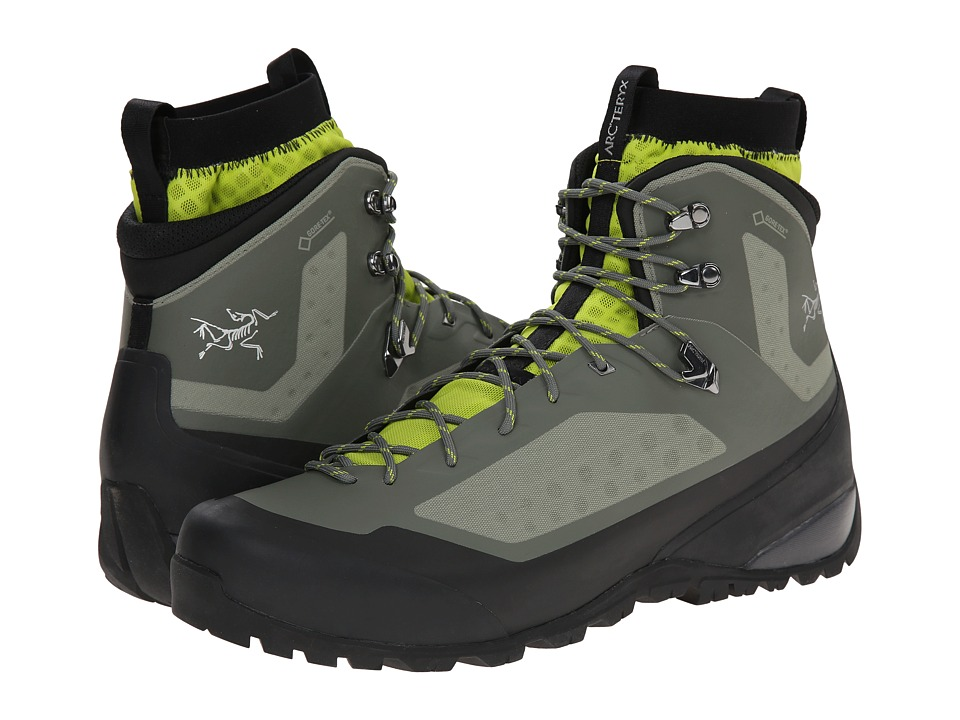 Arcteryx Bora Mid GTX Tundra/Reed Green Mens Shoes