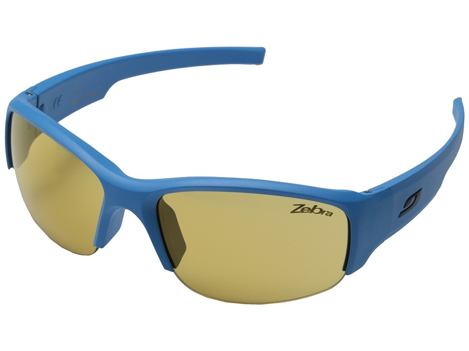 Julbo Eyewear Access Sunglasses Blue with Zebra Lenses Sport Sunglasses
