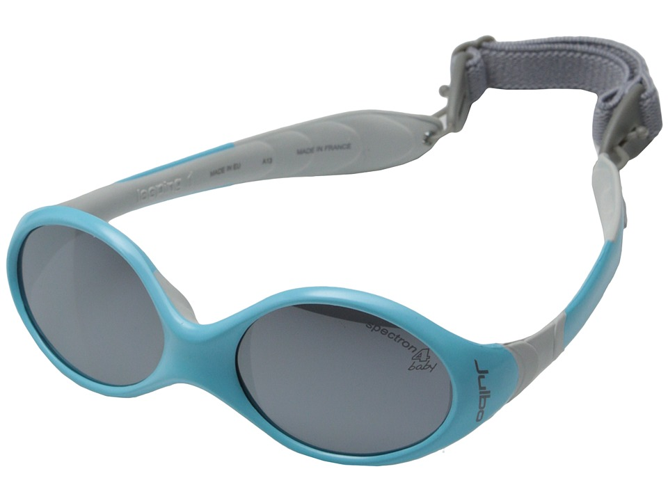 Julbo Eyewear Looping 1 Kids Sunglasses Blue/Grey with Spectron 4 Baby Lenses Sport Sunglasses