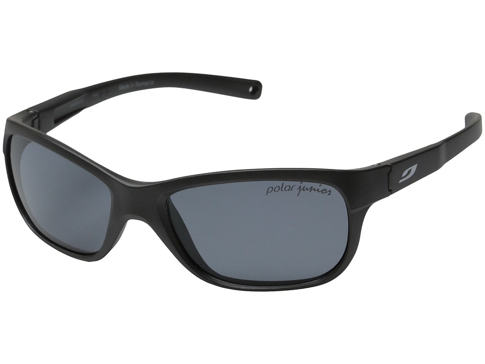 Julbo Eyewear Player L Sunglasses (Grey with Kids Polarized Lenses) Sport Sunglasses