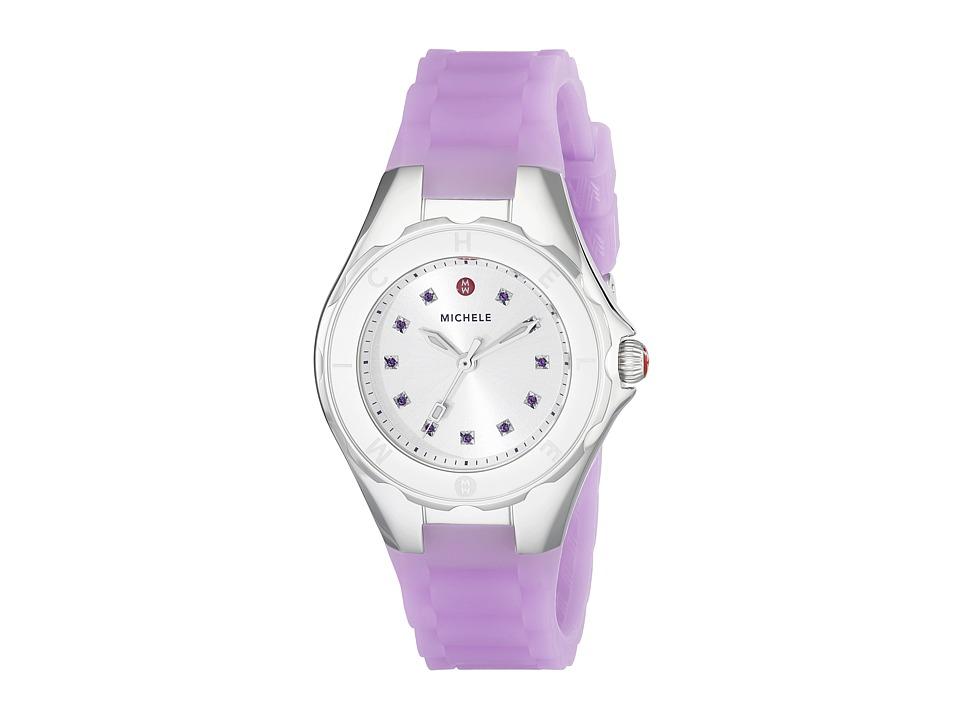 Michele Tahitian Jelly Bean Petite Topaz Purple Purple Watches