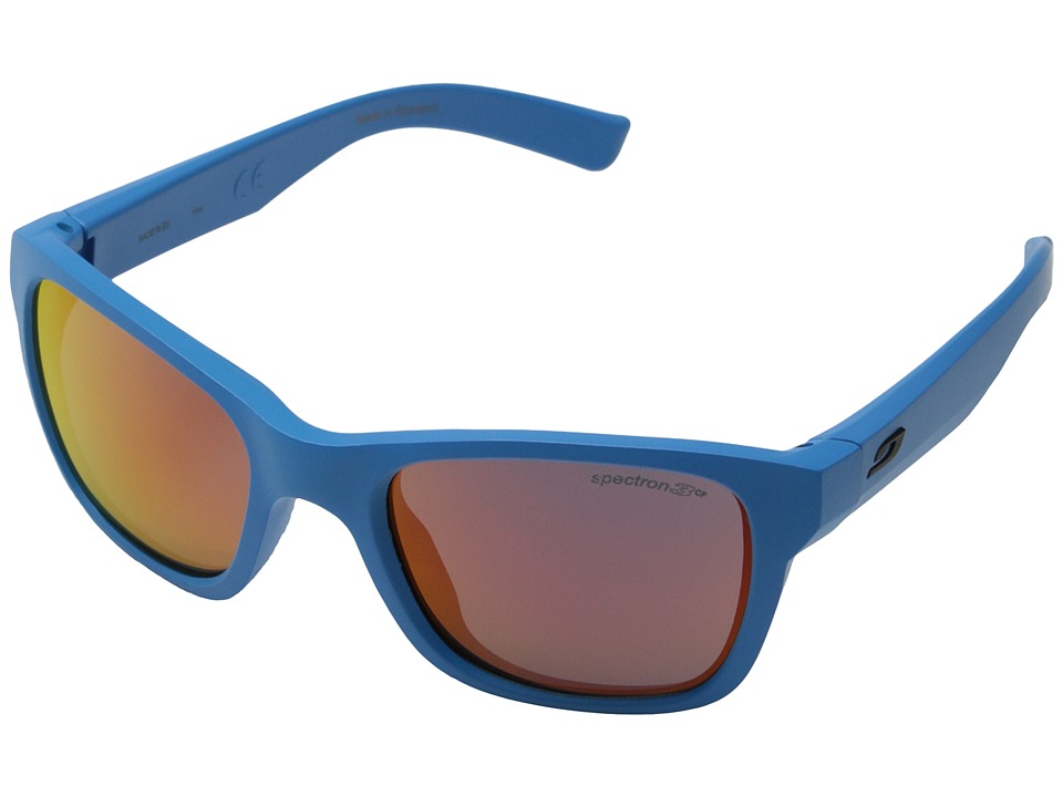Julbo Eyewear Reach Kids Sunglasses Bright Blue with Spectron 3 Lenses Sport Sunglasses