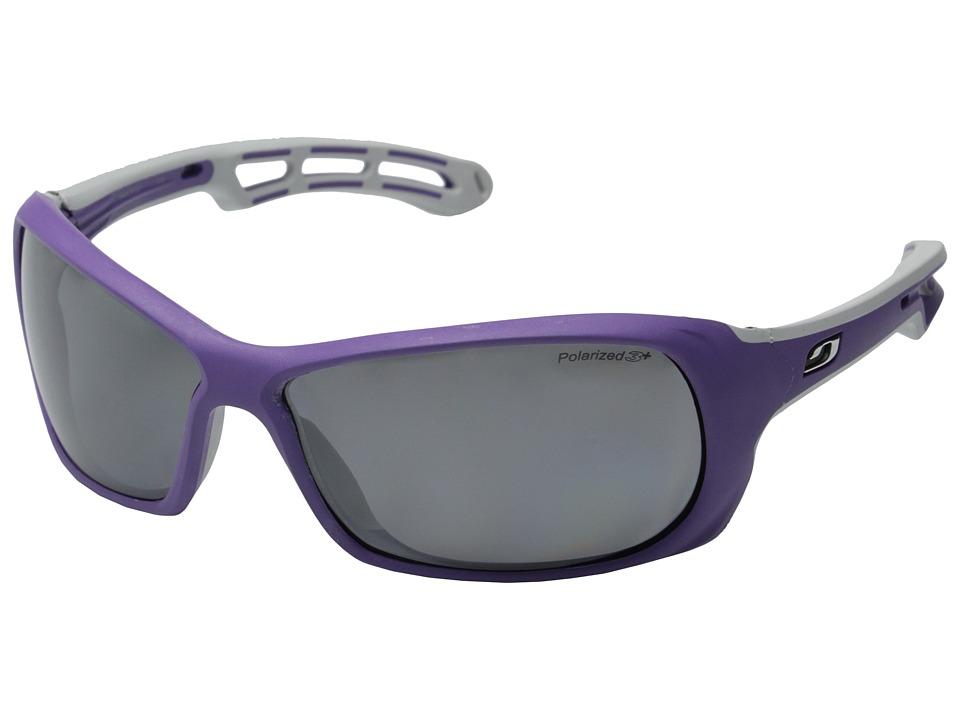 Julbo Eyewear Swell Sunglasses (Plum/Grey with Polarized 3 Lenses) Sport Sunglasses