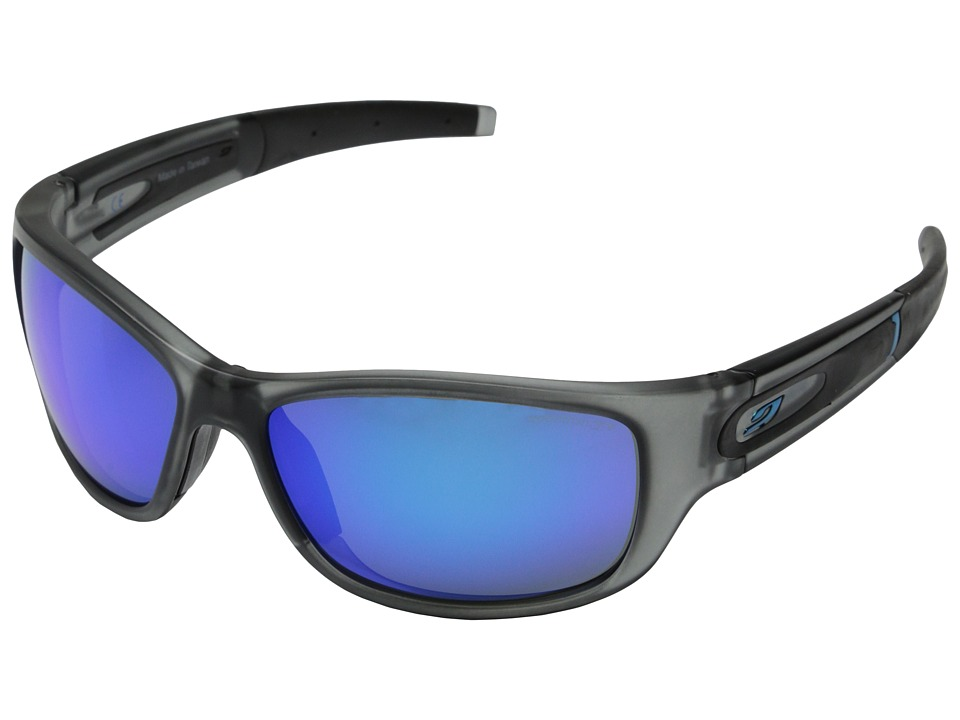 Julbo Eyewear Stony Sunglasses Grey with Spectron 3 Blue Lenses Sport Sunglasses