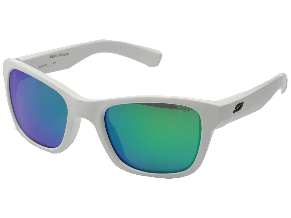 Julbo Eyewear Reach Sunglasses White with Spectron 3 Lenses Sport Sunglasses