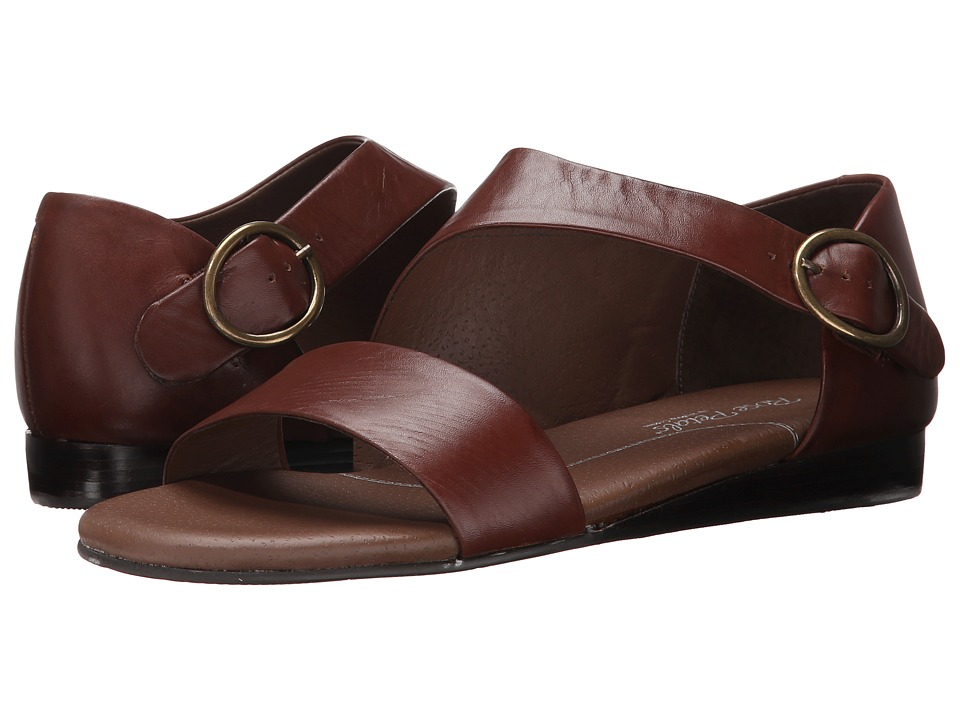 Rose Petals Fleet Tobacco New Softy Womens Sandals
