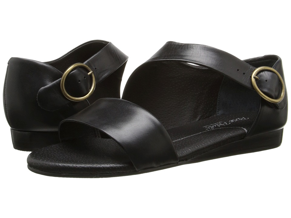 Rose Petals Fleet Black New Softy Womens Sandals