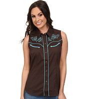 Roper - 100 Contrast Twill w/ Baroque Curves Embroidery