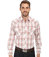 Roper - 9672 Red Multi Plaid w/ Gold Lurex