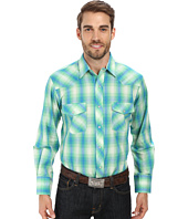 Roper - 9675 Kelly Green & Blue Plaid