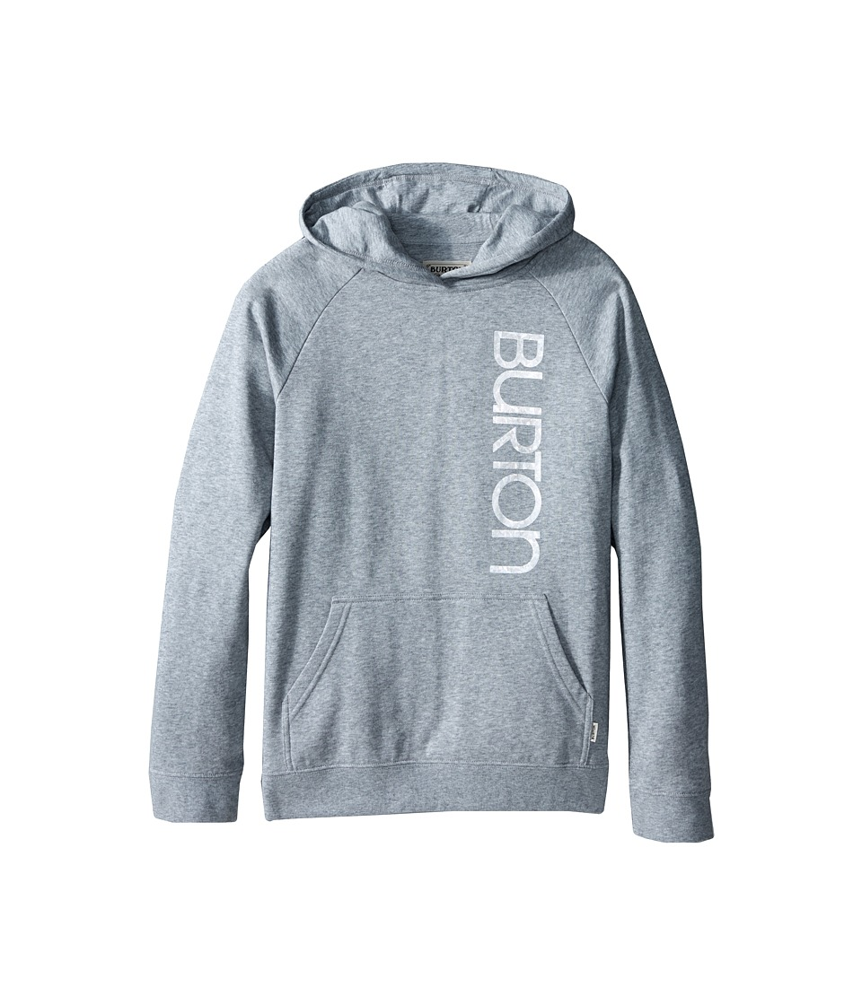 Burton Kids Antidote Pullover Hoodie Big Kids Grey Heather Girls Sweatshirt