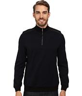 Calvin Klein - Jacquard 1/4 Zip Sweatshirt