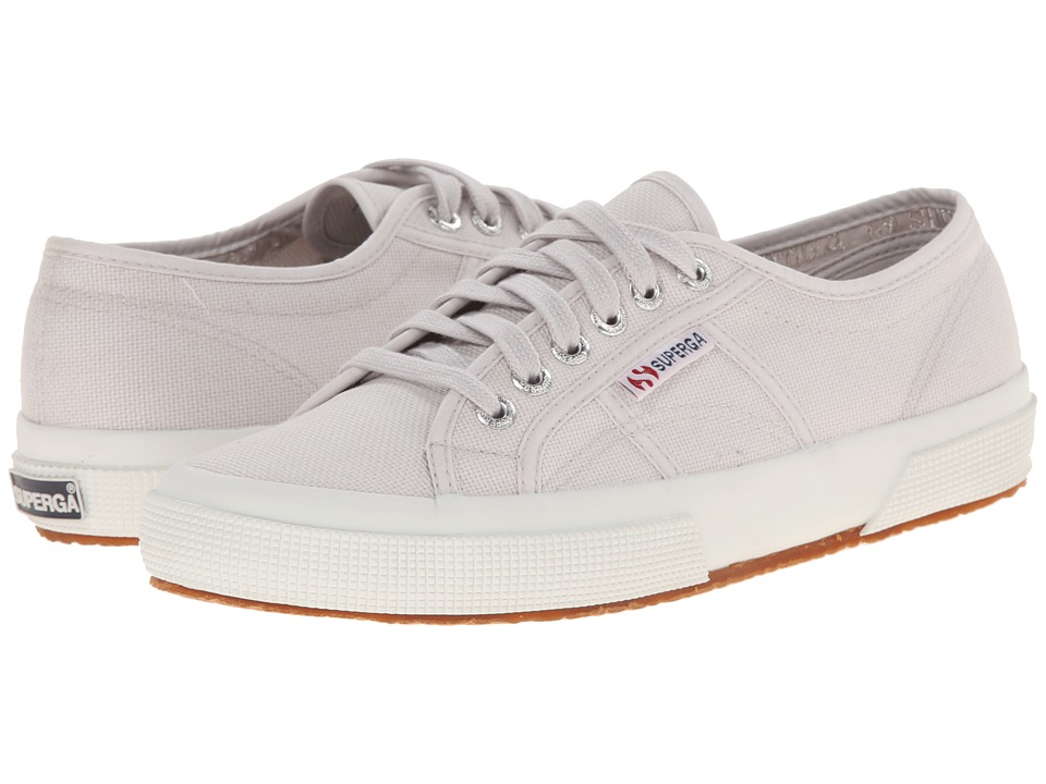 Superga 2750 COTU Classic (Grey Seashell) Lace up casual Shoes