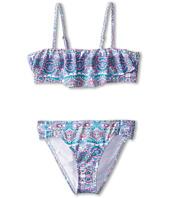 O'Neill Kids - Mavin Ruffle Bandeau Bikini (Big Kids)