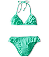 O'Neill Kids - Fashion Solids Ruffle Tri Bikini (Big Kids)