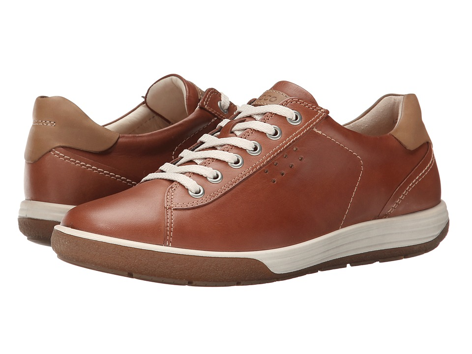 ECCO Chase II Tie Mahogany Womens Lace up casual Shoes