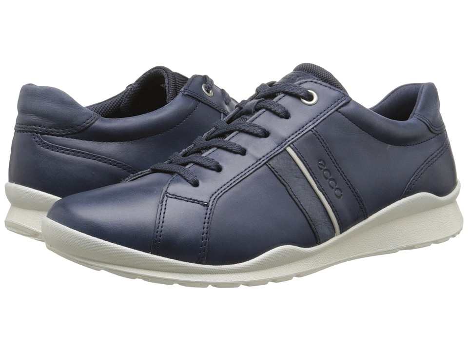 ECCO - Mobile III Casual Sneaker (Marine/Marine) Women's Lace up casual Shoes