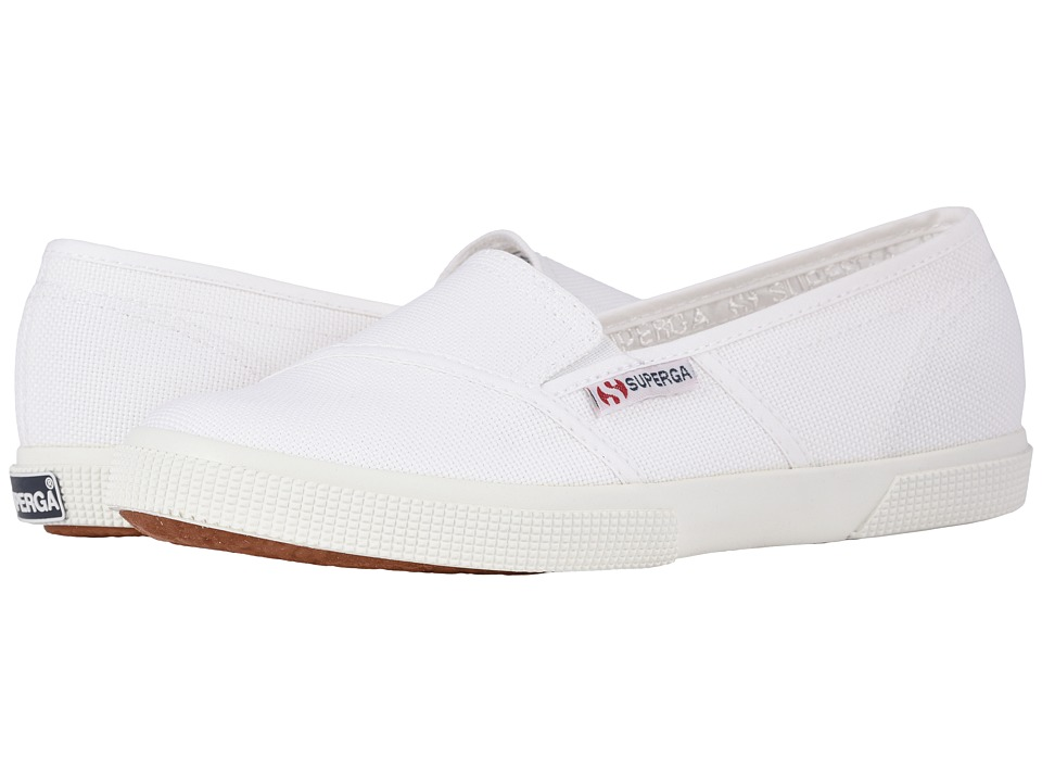 Superga - 2210 COTW Slip-On Sneaker (White) Womens Slip on  Shoes