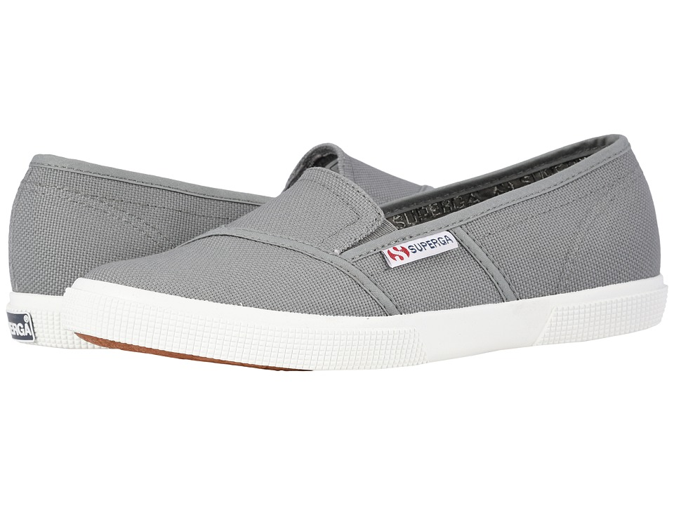 Superga 2210 COTW Slip On Grey Sage Womens Slip on Shoes