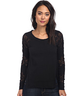 Free People - Grandpa Jersey Outer Sunset Top