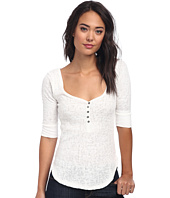 Free People - Slub Rib Sweetheart Henley