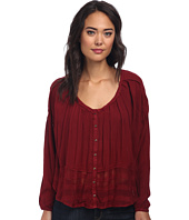 Free People - Rayon Gauze Rainy Days Swing Top