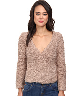 Free People - Marshmallow Surplice Pullover Sweater