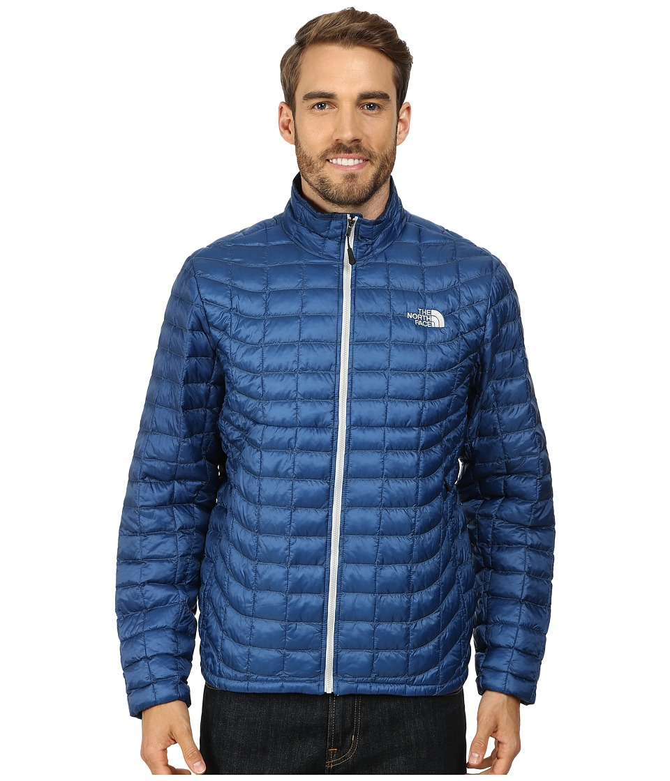 The North Face - ThermoBall Full Zip Jacket (Dish Blue) Men