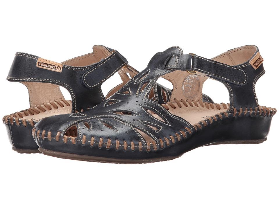 Pikolinos - Puerto Vallarta II 655-8312L (Navy Blue) Womens Hook and Loop Shoes