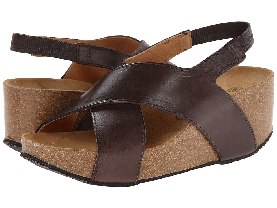 Eric Michael Rochelle Brown Womens Wedge Shoes