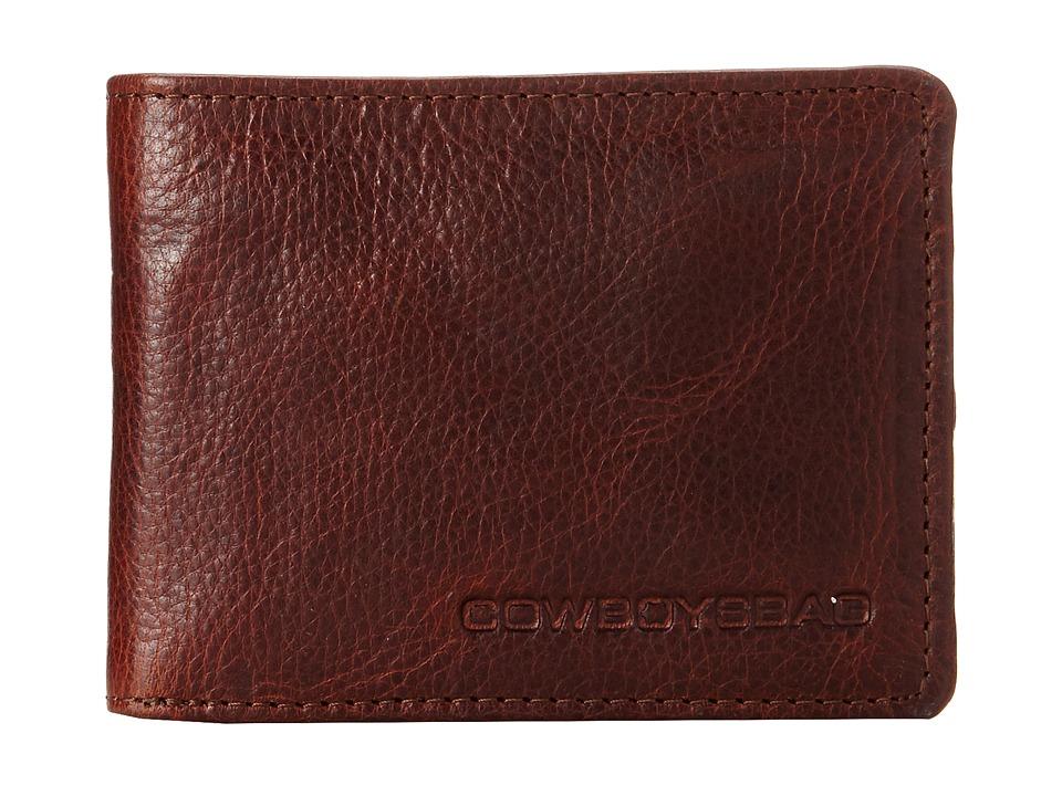 COWBOYSBELT - Bronx Wallet (Cognac) Wallet Handbags