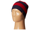 Sperry Top-Sider Marled Stripe Beanie w/ Leather Tab